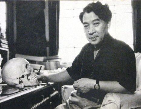 「弥生人渡来・混血説」を唱えた金関丈夫氏=1950年代