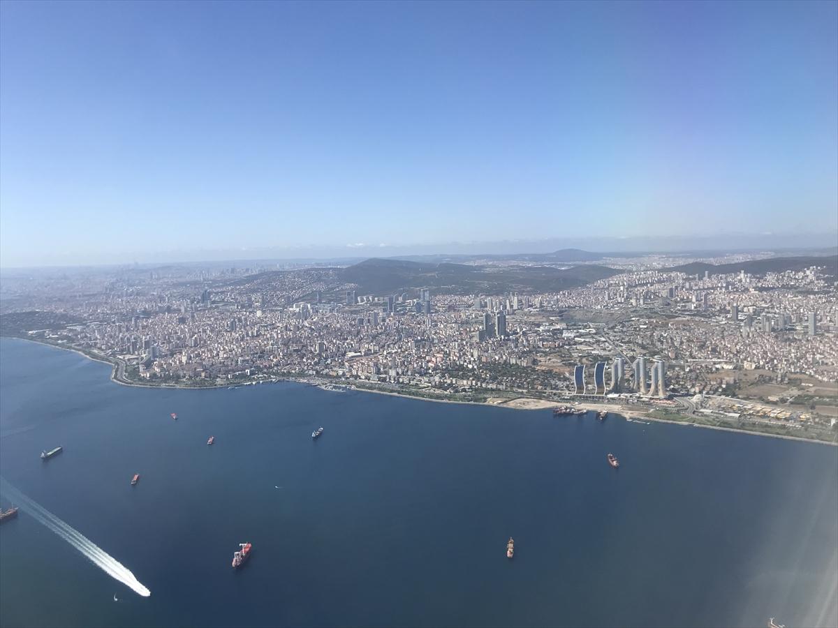 空から見たイスタンブール