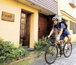 台湾KOMに向けて練習に励む山川宗一郎さん=10月上旬、三島市内