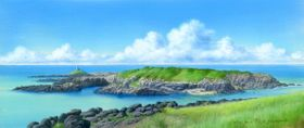 「夏の壱岐、乙島の灯台」ⒸNizo Yamamoto/KAIEISHA