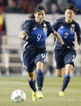 2016年3月、リオデジャネイロ五輪最終予選の韓国戦に出場した川澄奈穂美