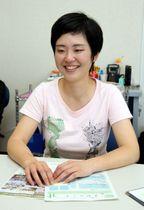 豪雨から1年となるのを前に、改めて支援活動への意気込みを語る永田さん