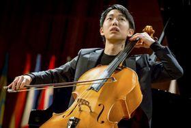 第68回ミュンヘン国際音楽コンクールのチェロ部門で1位になった佐藤晴真さん(AMATI提供・共同)
