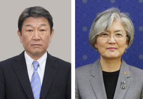 茂木敏充外相、韓国の康京和外相