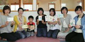 別府で育児ママ対象のポストカード教室