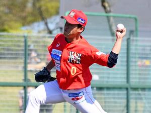 福島逆転負け、竹脇が意地の完投 野球BCリーグ