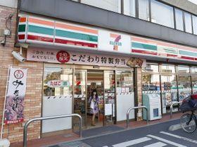 24時間営業見直しに向けた実験が行われるセブン―イレブン店舗=21日午後、東京都足立区