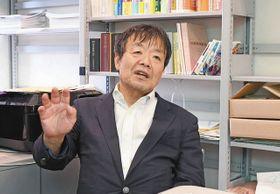 菅政権の問題点を語る立教大の平嶋彰英特任教授