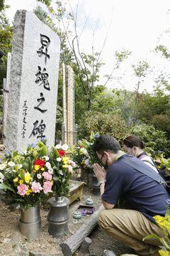 事故から35年、520人に祈り