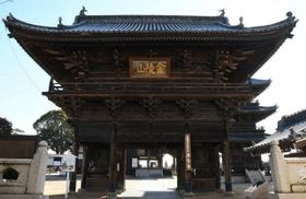 西大寺観音院の仁王門