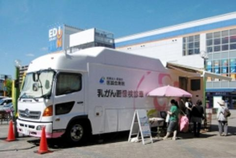 乳がん検査受診率6年で2・5倍 若年層にも対象拡大 三田市