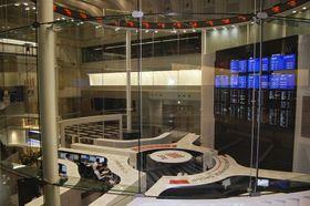 東京証券取引所の情報センター
