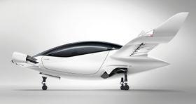ドイツ企業リリウムが開発中の空飛ぶ車「リリウム・ジェット」(同社提供)