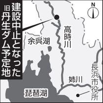 旧丹生ダム予定地
