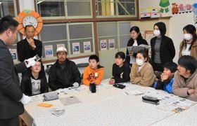 大平小で行われた薬物乱用防止教室