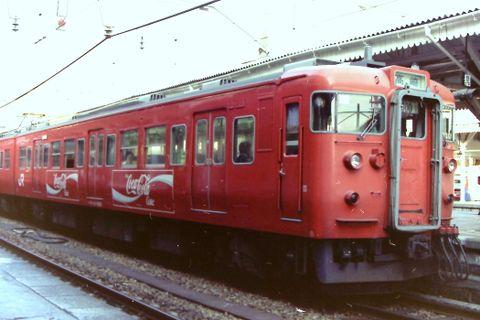 旧型車両の「コカレッド」塗装復活に募金求む!しなの鉄道