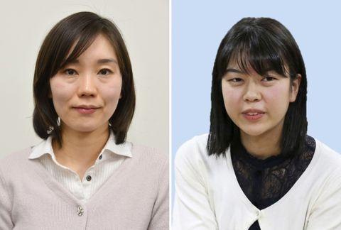 上野愛咲美四段が勝ち1勝1敗