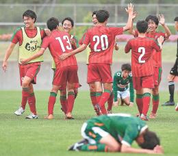 高校サッカー 東北選手権 男子は尚志が逆転で初V