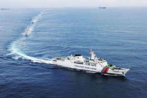 韓国、海保測量船に調査中止要求