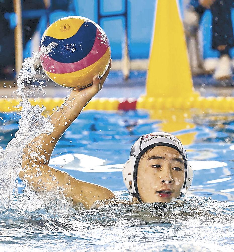 石川イーグルスV 県ジュニア秋季水球競技大会