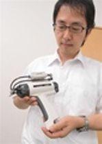 異物吹き飛ばす「除電ガン」開発 浜松・トリンク