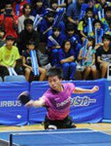 アスティーダに夢中 卓球日本リーグ1部 ホームで開幕戦