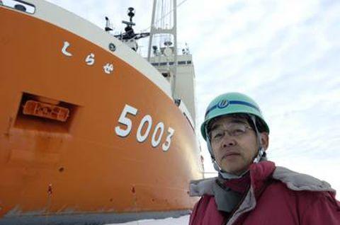 3月15日(126日目:あと4日)「隊員に聞く⑦」初航海、氷との闘い見守る 新しらせ建造の総責任者
