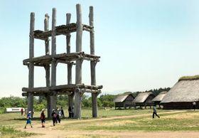 三内丸山遺跡=2013年6月、青森市
