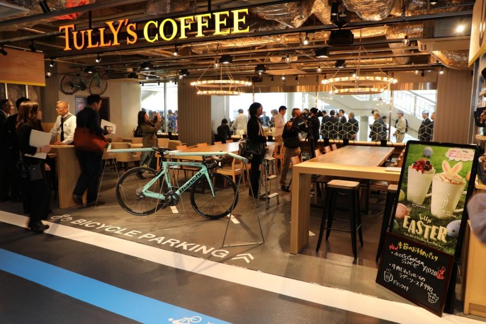 ⑨自転車で乗り付け可能なサイクルカフェ