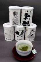 レトロなパッケージデザインの「八島シリーズ」