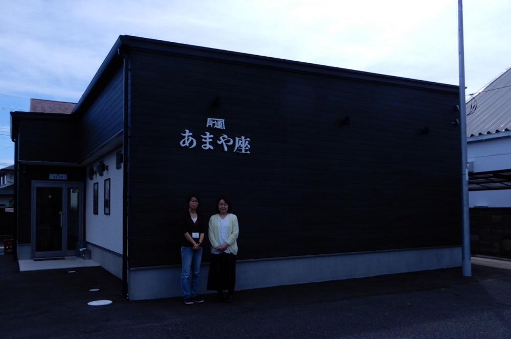 市民の寄付も加わってオープンした映画館。定休日を除いて午前から連日、上映を続ける=2018年6月、茨城県那珂市