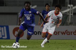 J2徳島⋅ウタカ、デビュー戦で決勝アシストの活躍