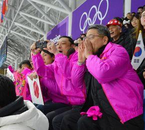 平昌五輪 スケート女子500 神谷衣理那 帯広の支援企業、リンクでエール