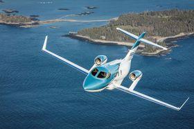 ホンダの米国子会社が発表した新型ビジネスジェット機「ホンダジェットエリート」