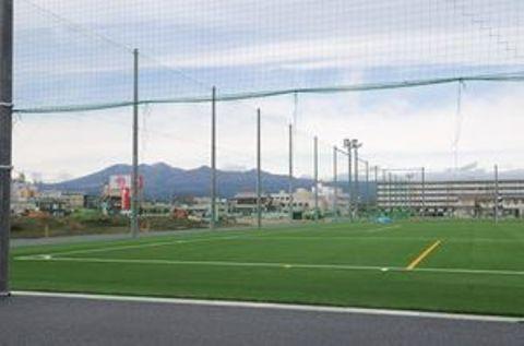工事が進む仮称とちぎフットボールセンター