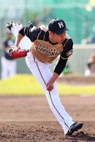 日本ハム 期待の左腕 若武者・堀投手
