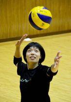 「ルーキーらしくチームを勢いづけるプレーをしたい」と語る松本愛希穂(神奈川県平塚市の東海大)