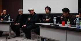 シンポジウム『インディペンデント映画ってなんだ!?』の模様=東京都千代田区の東京国際フォーラム