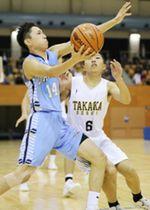 高岡第一2年ぶりV 高校バスケ県予選男子
