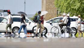 立秋が過ぎても暑い日が続く。8月11日、横浜で日中の最高気温が35.6度を記録(横浜地方気象台調べ)