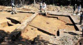 一関・骨寺村荘園遺跡 中世遺構か 柱穴10ヵ所