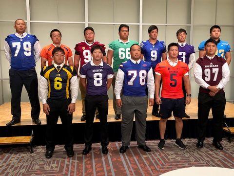 1部TOP8は日大を除く7校で実施 関東大学秋季リーグ戦