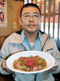メキシコとの縁グルメに サラダ焼きそばで大多喜の町おこし