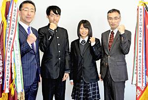 学法石川男女陸上部「結果出すだけ」 全国高校駅伝へ意気込み