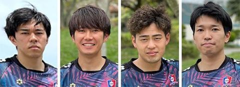 琉球コラソンに4選手が新加入 東江主将は契約更新