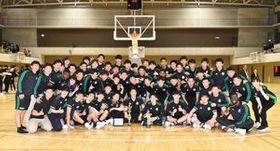 関東大学選手権で初優勝を飾った白鴎大男子バスケットボール部
