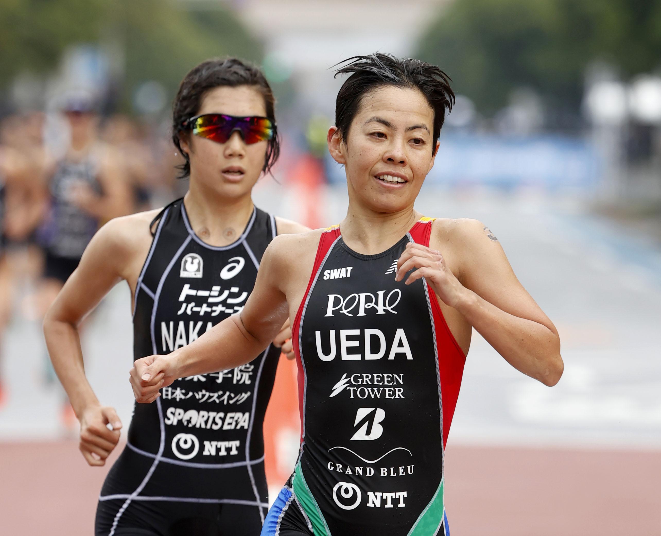 トライアスロン上田が4年ぶりV 37歳、日本選手権