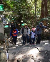 高千穂神社や高千穂峡などを巡ったトレッキングイベント