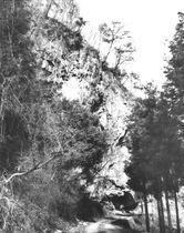 権現谷岩陰遺跡(1983年発行の発掘調査報告書より)
