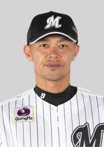 ロッテの福浦和也内野手